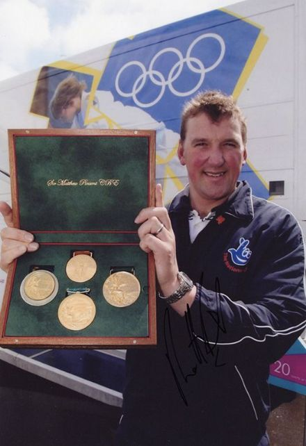 Matthew Pinsent, Olympics rower, signed 12x8 inch photo.